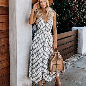 Out of Office Versatile Plaid Dress